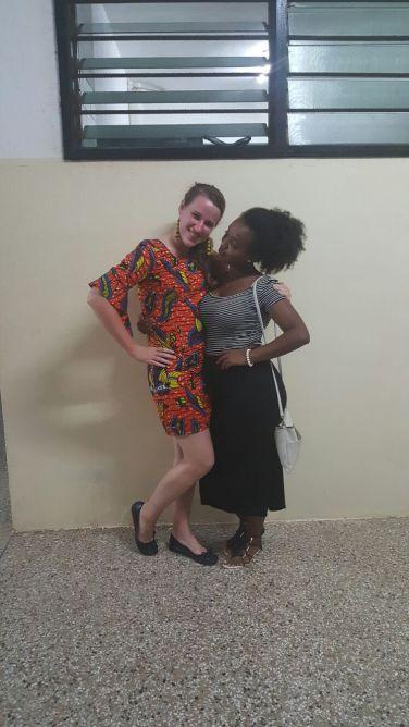 Keisha and I